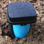 Скважина с обсадной пластиковой трубой